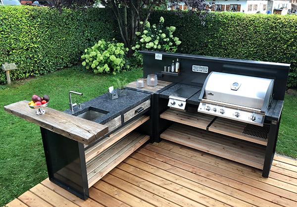 Outdoor Küche Edelstahl Zubehör : Die outdoorküche u2013 garten und landschaftsbau häringer gmbh